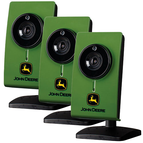 John Deere Indoor Wifi Camera - 3 Pack