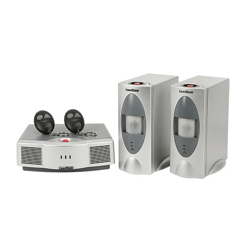 LaserShield Instant Home Security System with Extra Sensor