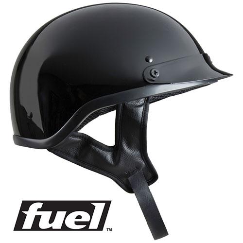 Fuel SH-HHGL Adult Glossy Half Helmet