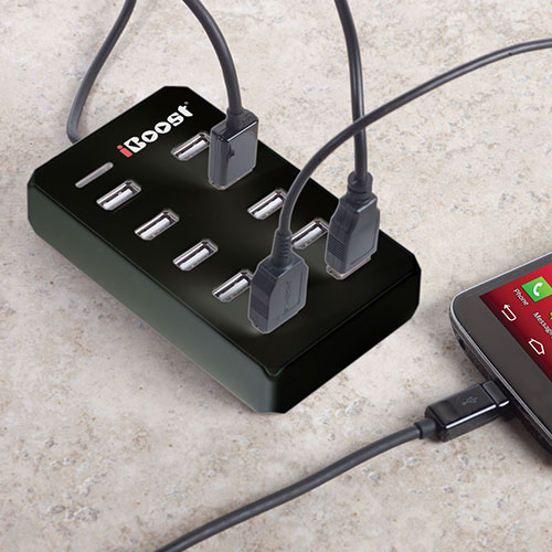 USB Smart Hub with Charger