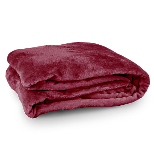 Northpoint Trading Burgundy King Blanket