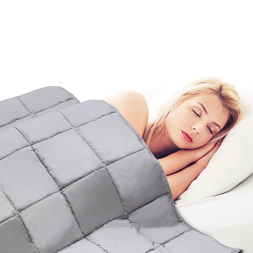 Fine Life Grey Weighted Blanket - 15lbs.