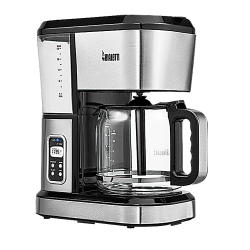Bialetti 12-Cup Stainless Steel Coffee Maker