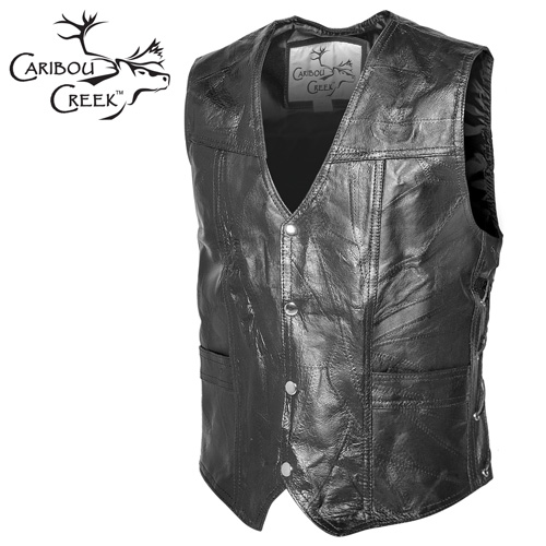 Classic Leather Vest