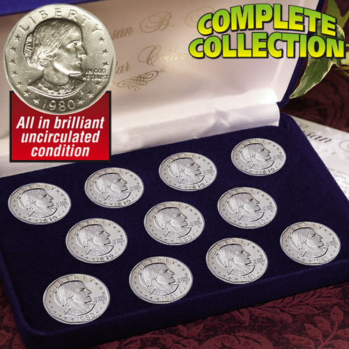 Susan B. Anthony Dollar Collection