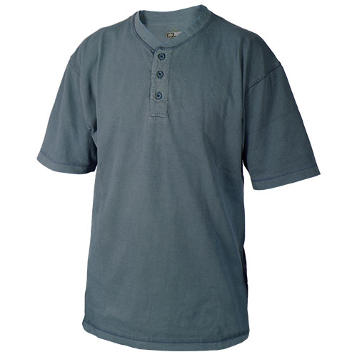 Canyon Guide Navy Henley Shirt