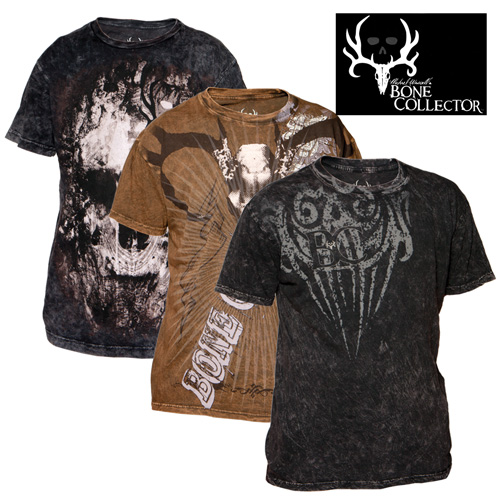Bone Collector Shirts - 3 Pack