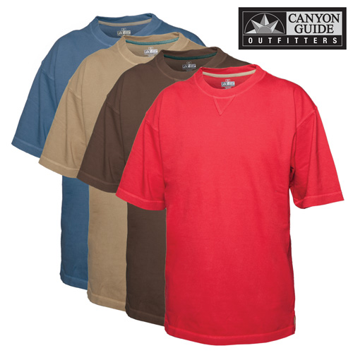 Short Sleeve Crew Neck Shirts - 4 Pack
