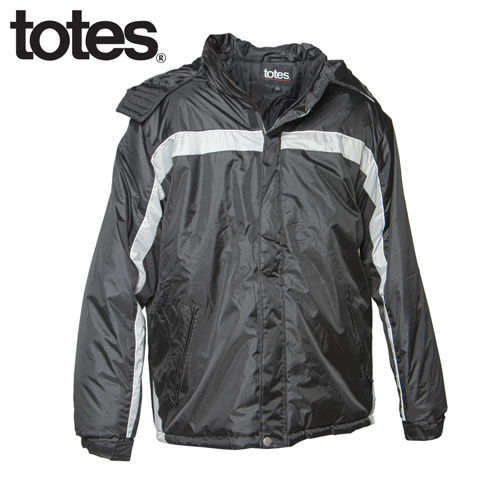 Totes Winter Jacket - Black