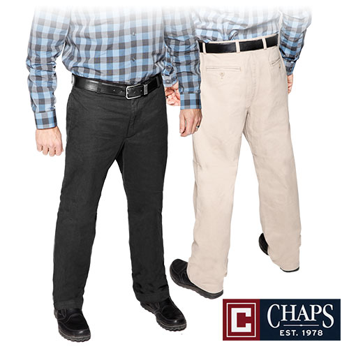 Chaps Cotton Pants