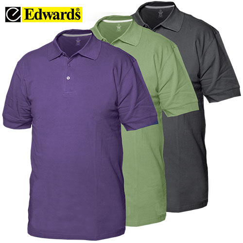 Heartland America 3 Pack Pique Polo Shirts