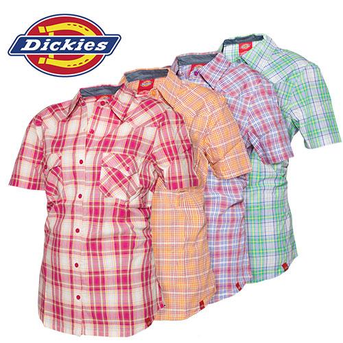 Dickies Short Sleeve Plaids
