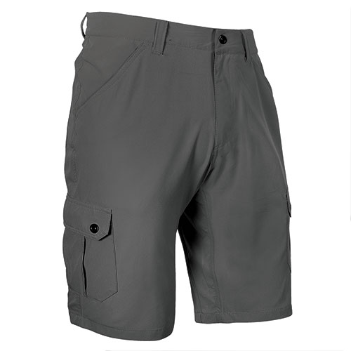 Stillwater Supply Men's Charcoal Stretch Cargo Shorts