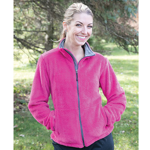 Micro Chenille Jacket - Wildberry