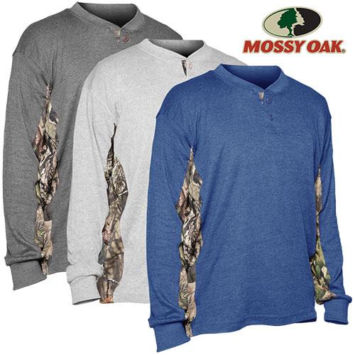 Mossy Oak Henleys