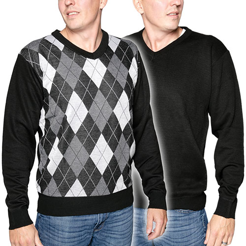 Marx & Dutch Men's V-Neck Sweaters