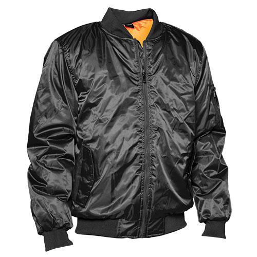 Flight Men's Black Jacket