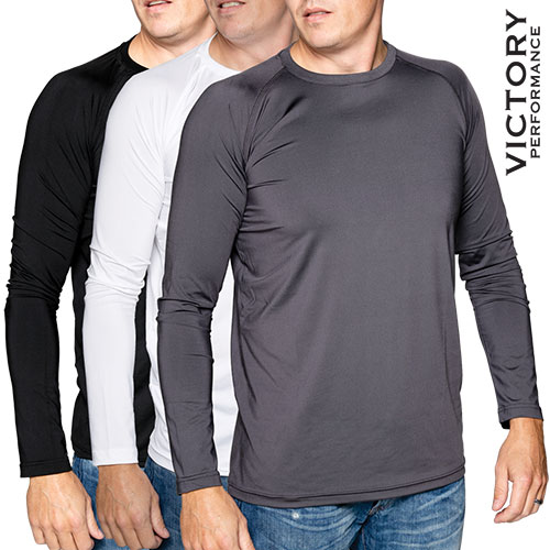 Victory Performance Men's Shirts - 3 Pack