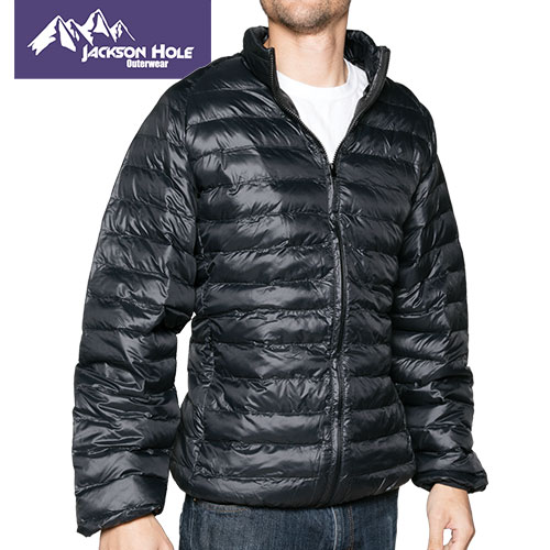 Jackson Hole Men's Black Puffer Jacket