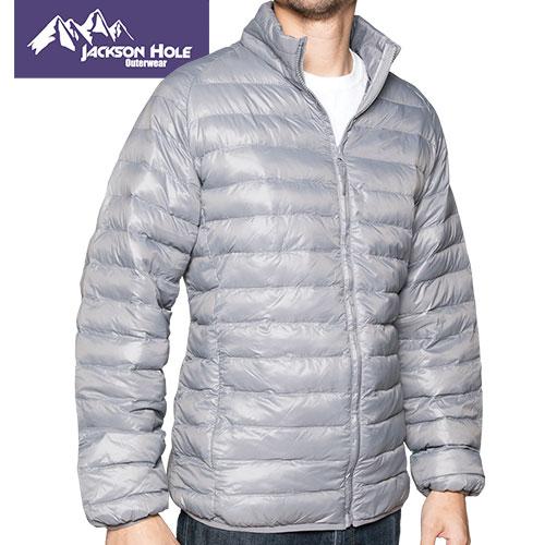 Jackson Hole Men's Charcoal Puffer Jacket