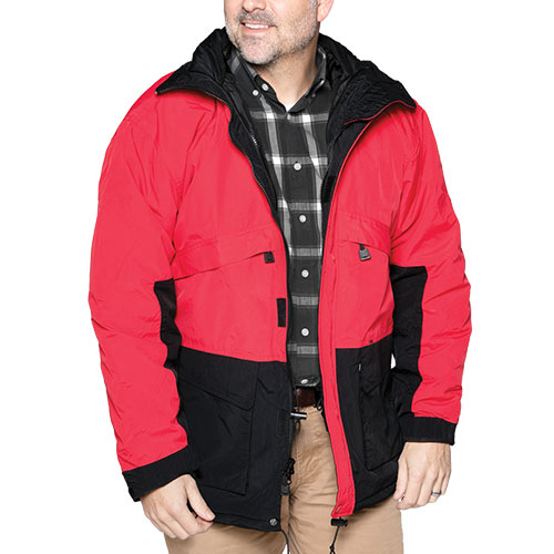 Hartwell Men's Red 3-in-1 Jacket