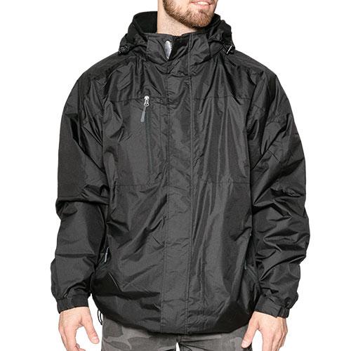 Landway Men's Black Alpine Jacket