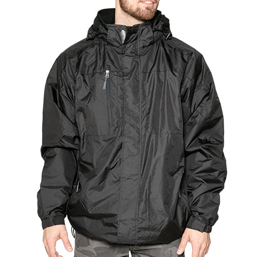 Landway Men's Black Alpine Jacket