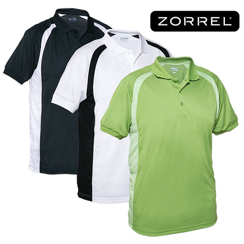 Zorrel Men's Plantation Polo Shirts