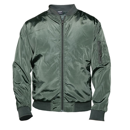 Truppa Men's Olive Bomber Jacket