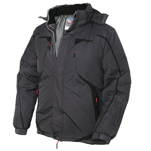 Truppa Men's Black Parka Jacket