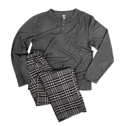 Rugged Frontier Men's Navy & Grey Pajama Set- 2 Pack
