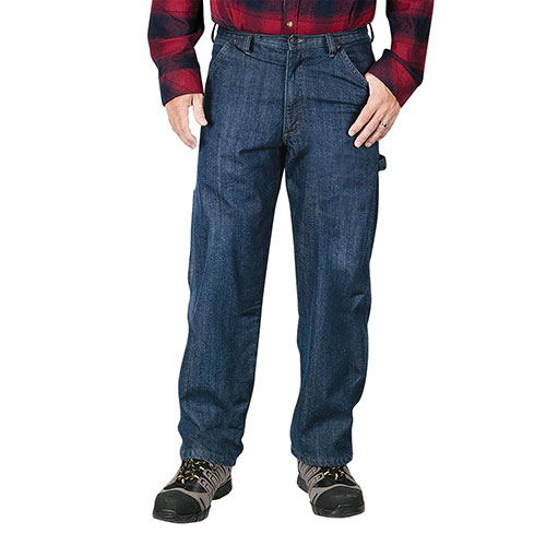 Wrangler Men's Fleece Lined Carpenter Jeans