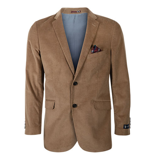 US Polo Men's Wheat Corduroy Sport Coat