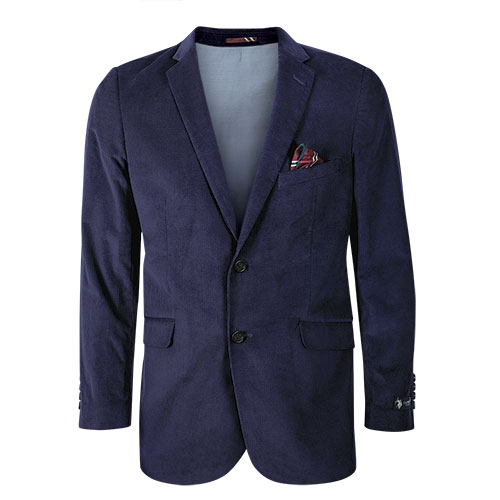 US Polo Men's Navy Corduroy Sport Coat