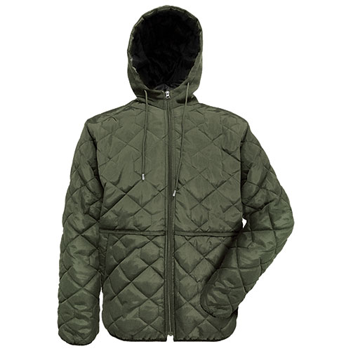 Truppa Men's Olive Lightweight Quilted Jacket
