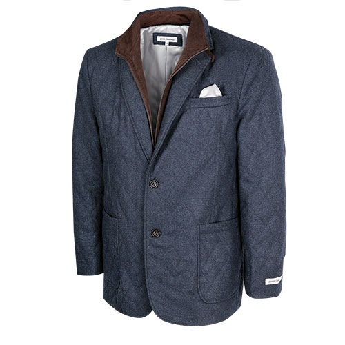 Men's Navy James Campbell Hybrid Sport Coat