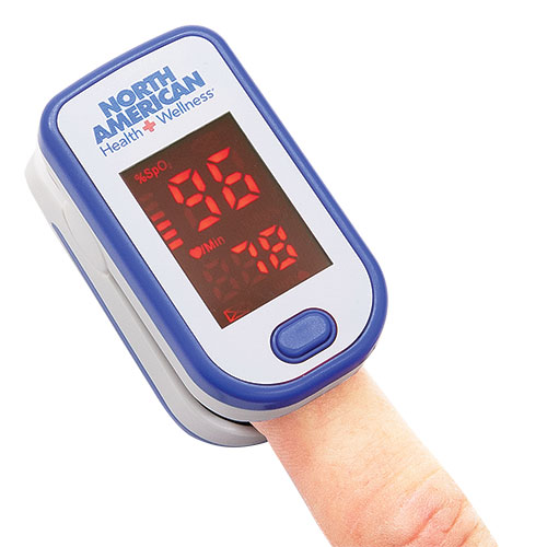 North American Health + Wellness Finger Oximeter