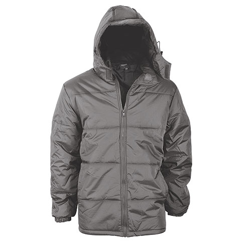 Truppa Men's Gray Basic Puffer Parka