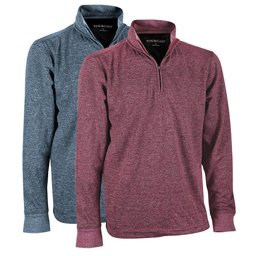 Fourcast Men's 1/4 Zip Sweaters - 2 Pack