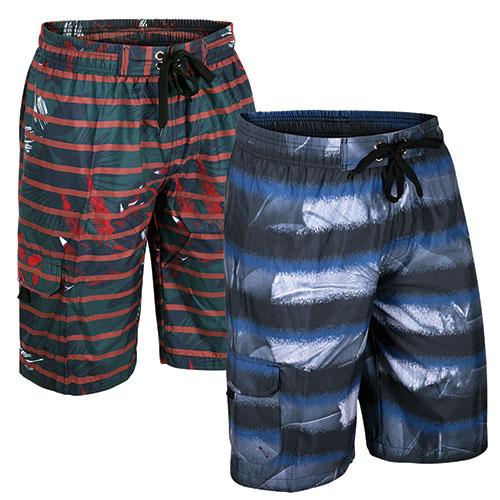 Original Deluxe Men's Blue Board Shorts