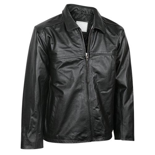 Burks Bay Men's Leather Driving Jacket