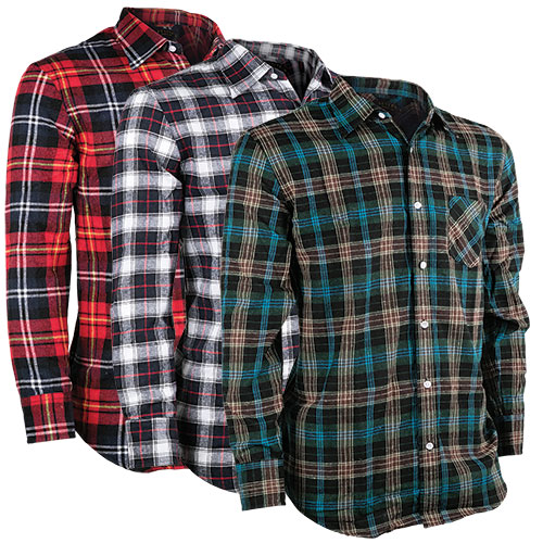 Activa Men's Flannel - 3 Pack