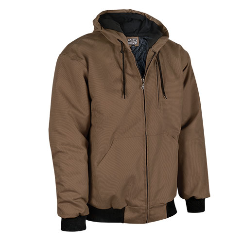 Men's Casual Country Duck Work Jacket - Brown