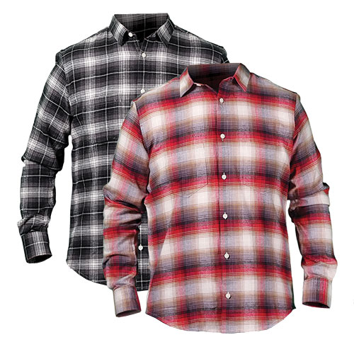 Chambray Men's Flannels - 2 Pack