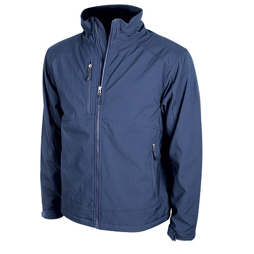 Storm Creek Men's Navy Polyester Tucker Jacket