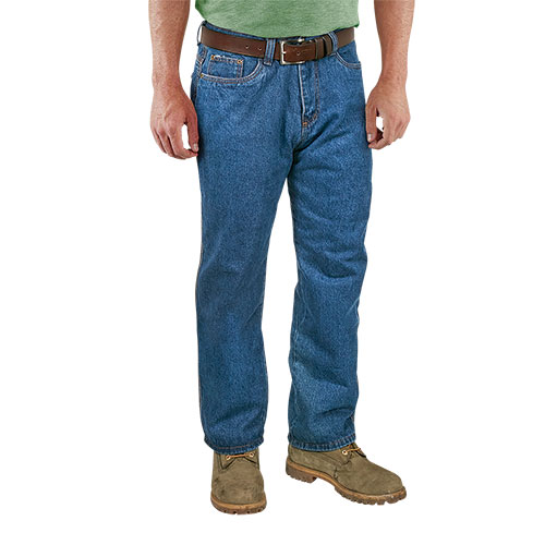 Northern Expedition Men's Flannel-Lined Jeans