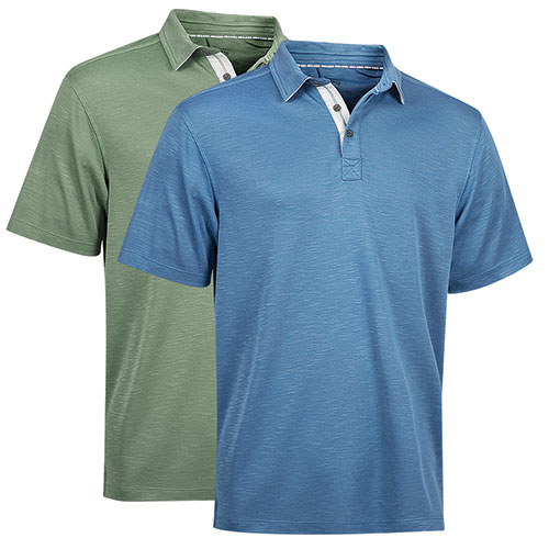 Victory Sportswear Men's Model Polo Shirts - 2 Pack