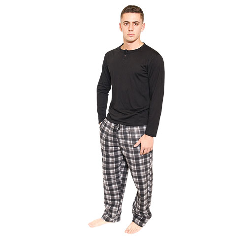 Rugged Frontier Black & Navy Lounge Set - 2 Pack