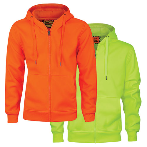 Work Hard Men's Hi-Viz Sweatshirt - 2 Pack