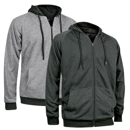 Burnside Men's Sherpa Hoodie - 2 Pack